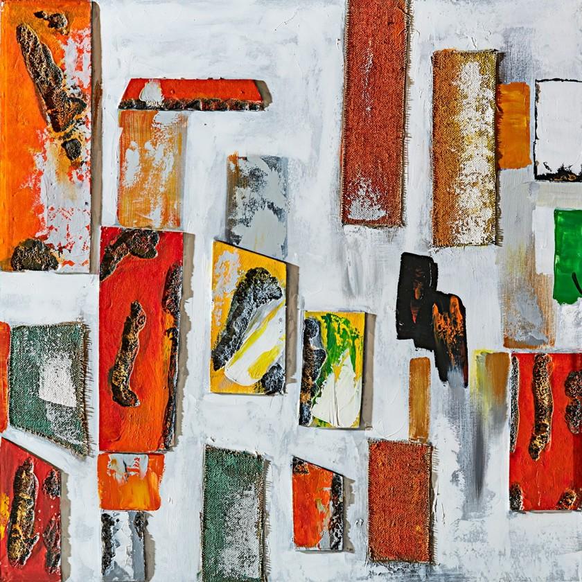 Obraz abstraktní Z362, 100x100 cm