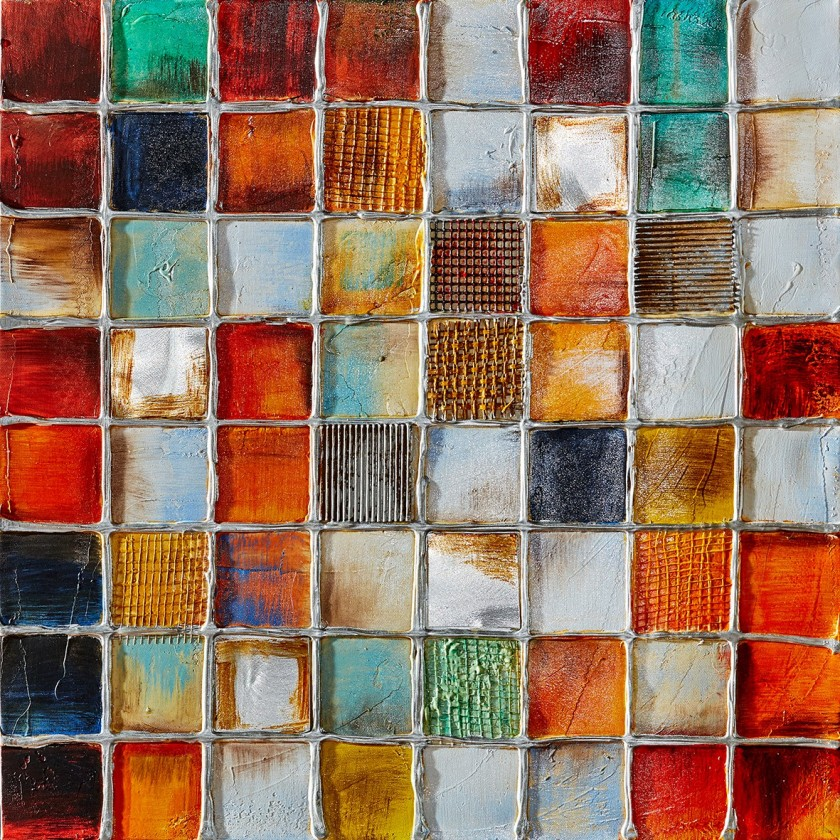 Obraz abstraktní Z364, 100x100 cm