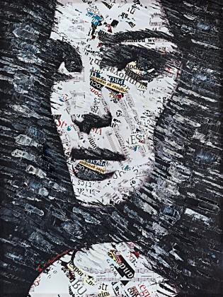 Obraz B022, 120x90 cm (print a paint)