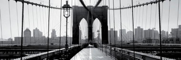 Obraz Brooklyn Bridge N.Y. 50x150 cm