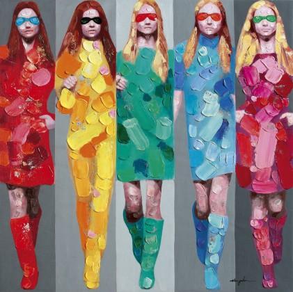 Obraz Elite Collection A109, 100x100 cm