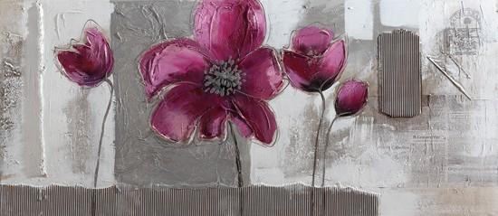Obraz Flowers W164, 65x150 (květy)