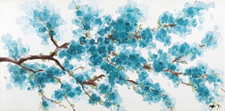 Obraz Flowers W509, 60x120 (květy)