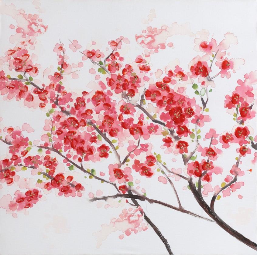 Obraz Flowers W530, 60x60 cm (květy)