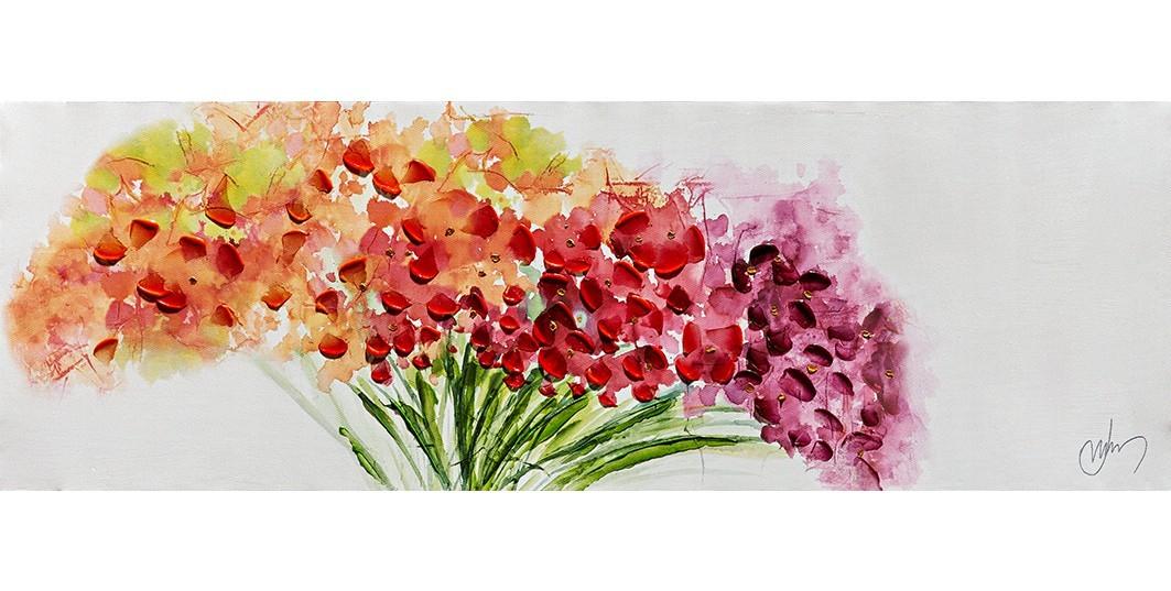 Obraz Flowers W551, 30x90 cm (květy)