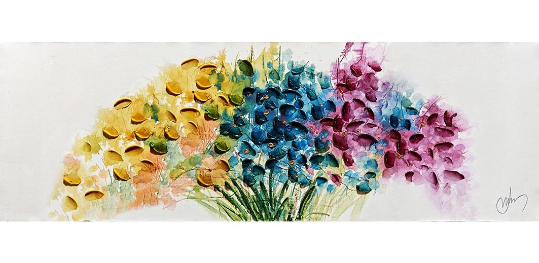 Obraz Flowers W552, 30x90 cm (květy)