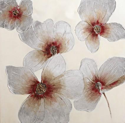 Obraz Flowers Z018, 100x100 (květy)