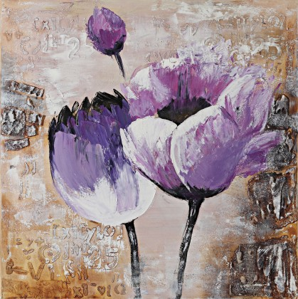 Obraz Flowers Z028, 80x80 cm (květy)
