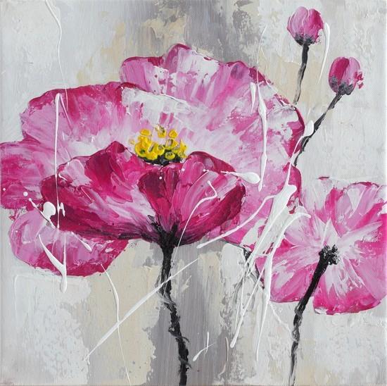 Obraz Flowers Z106, 30x30 (květy)