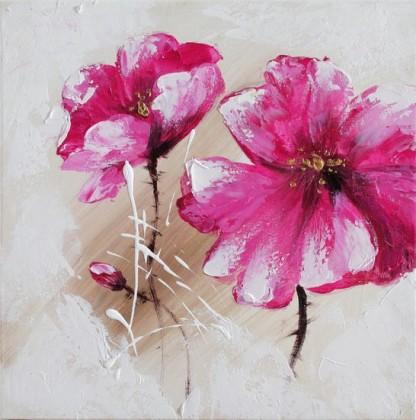 Obraz Flowers Z107, 30x30 (květy)