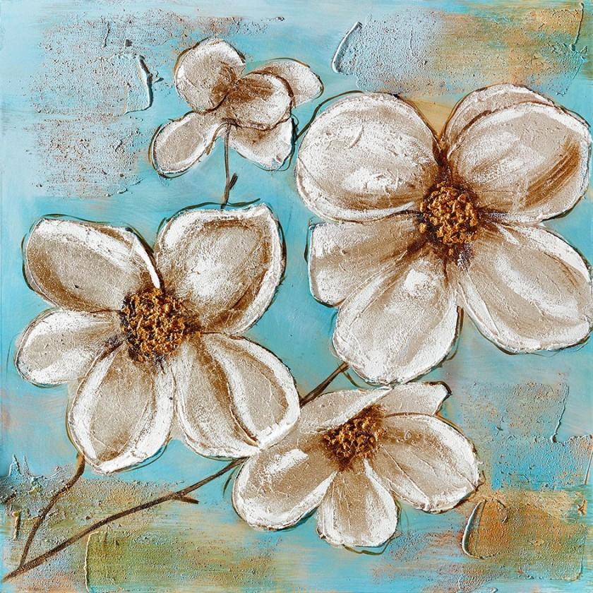 Obraz Flowers Z356, 80x80 cm (květy)