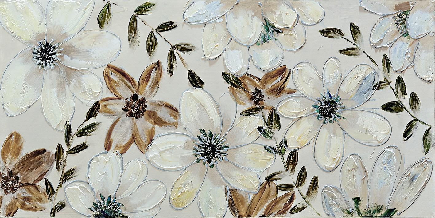 Obraz Flowers Z357, 60x120 cm (květy)