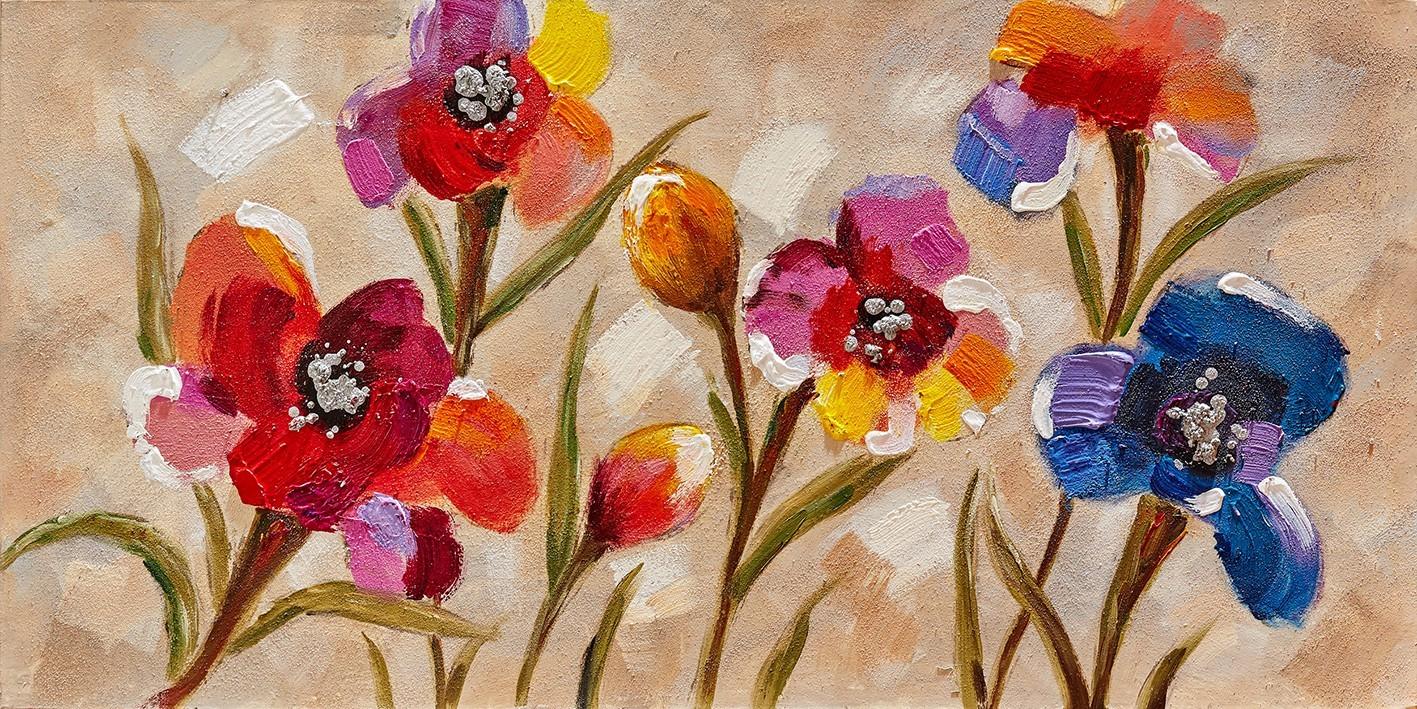 Obraz Flowers Z361, 60x120 cm (květy)