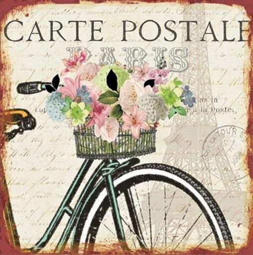 Obraz na zeď - plátno (béžová, kolo s květinami)