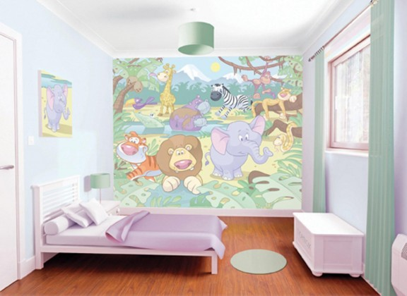 Obrazová tapeta 40595 (baby džungle)