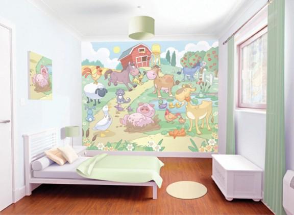 Obrazová tapeta 40601 (baby farma)