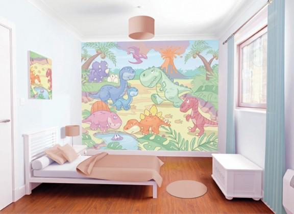 Obrazová tapeta 40618 (baby dinosaurus)