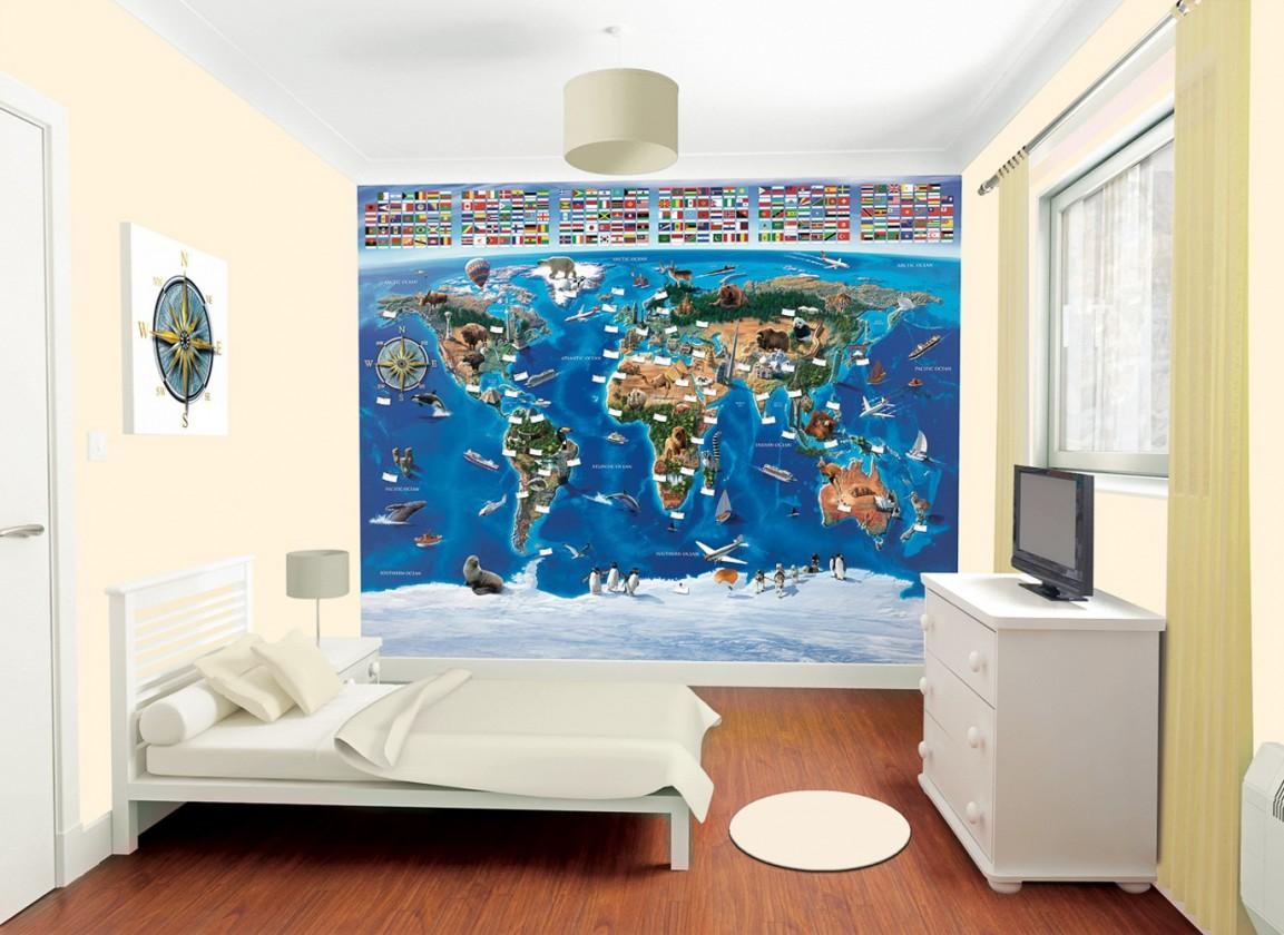 Obrazová tapeta 41851 (mapa světa)