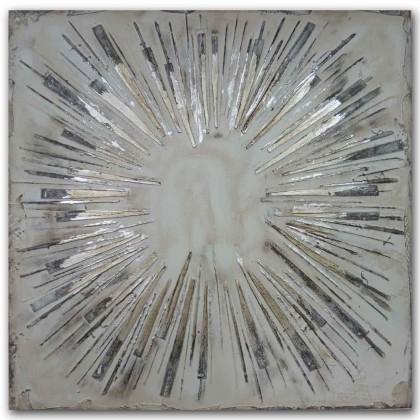 Obrazy Ručně malovaný obraz Big bang (100x100 cm)