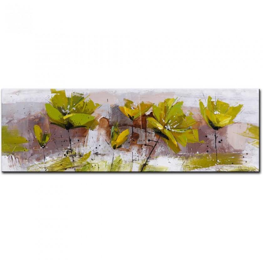 Obrazy Ručně malovaný obraz Experimental (50x150 cm)