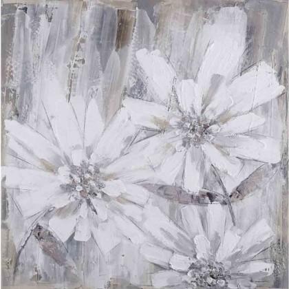 Obrazy Ručně malovaný obraz Wallflower (80×80 cm)