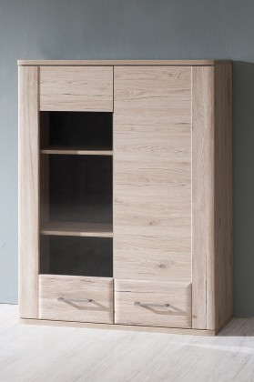 Obývací pokoje ZLEVNĚNO Canby TYP 22 (san remo sand LDTD,san remo sand MDF)