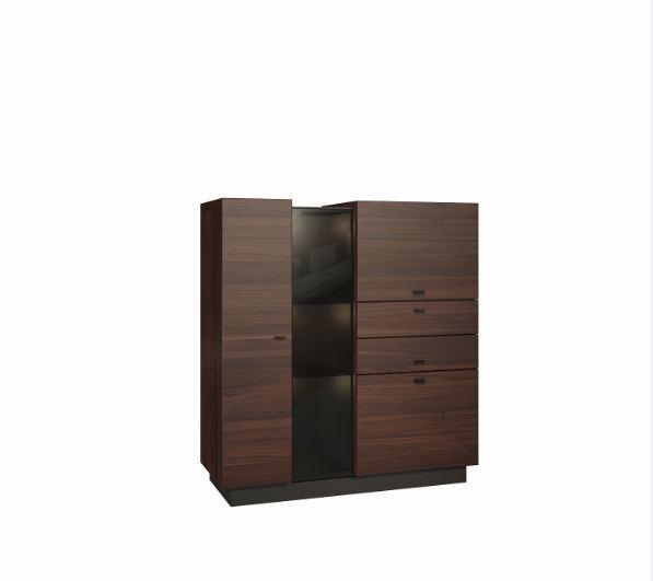 Obývací pokoje ZLEVNĚNO Quartz - typ 03 (jilm J1)
