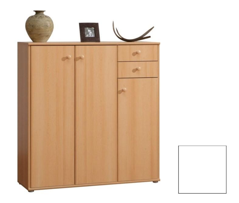 Obývací pokoje ZLEVNĚNO Tempra KK10 (Bílá uni)