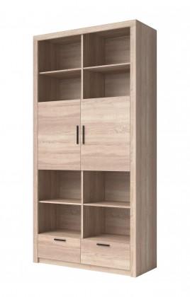 Obývací skříně Obývací skříň Nemesis - 2x dveře (dub sonoma)
