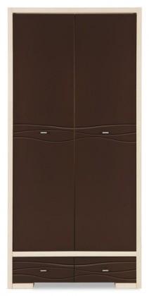 Obývací skříně Skříň Cava (thuje/metalic bronz) CV 8