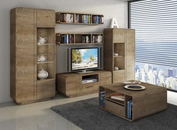 Obývací stěna Acerro - Obývací stěna (dub lefkas)