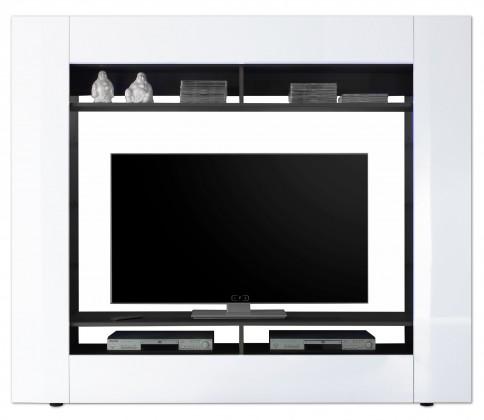 Obývací stěna Evito X3 (Antracit/bílá)