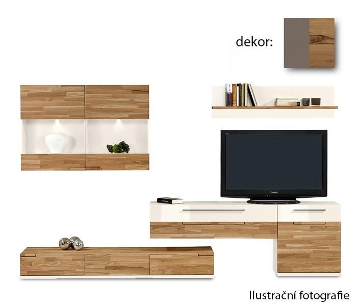 Obývací stěna Feel - Obývací stěna 4045005 (cubanit/divoký buk/cubanit)