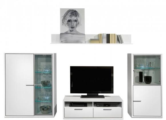 Obývací stěna Game - obývací stěna 347220 (bílá/bílá)