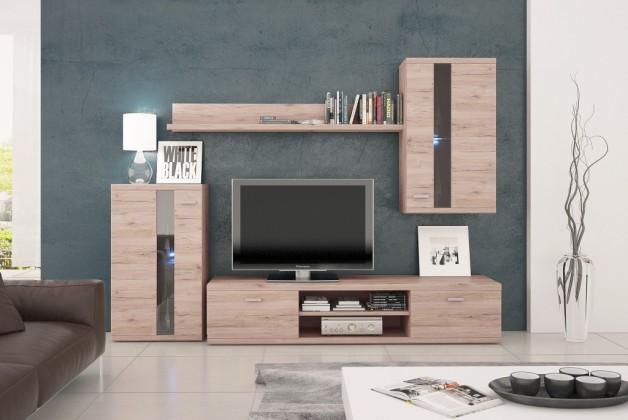 Obývací stěna Life - Obývací stěna (dub sanremo)