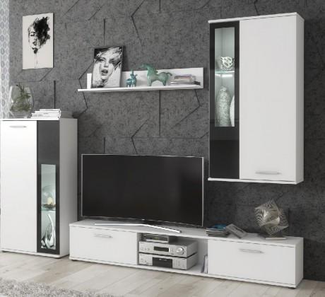 Obývací stěna obývací stěna vita (bílá)