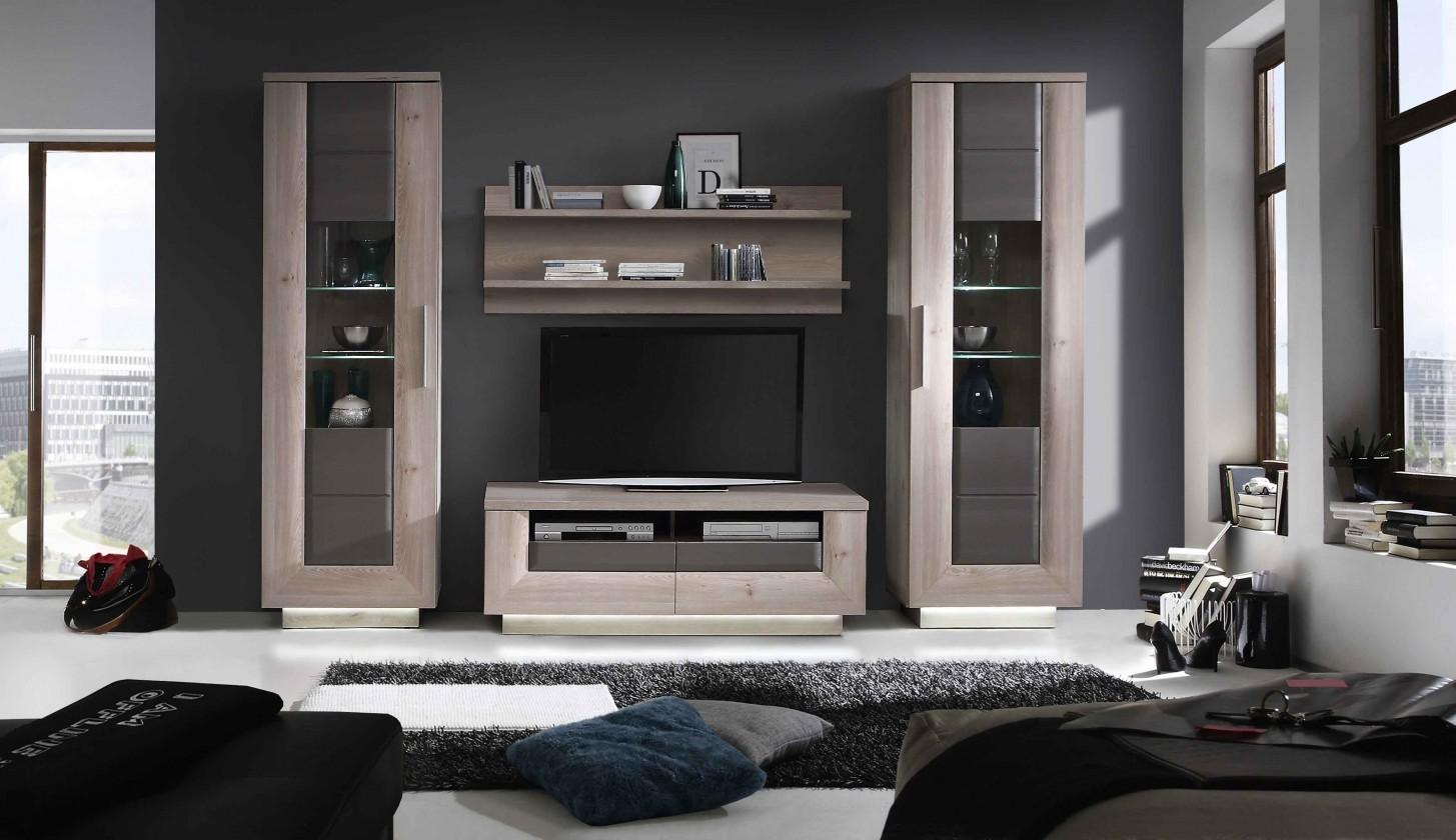 Obývací stěna Stairs - Obývací stěna, TV stolek, 2x skříň