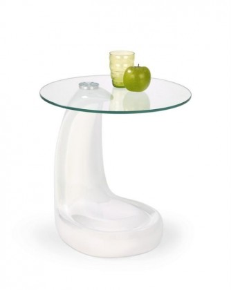 Odkládací stolek Ester (Bílá)