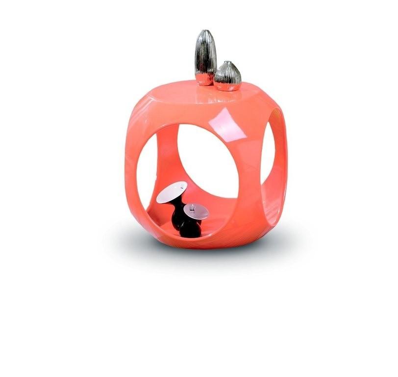 Odkládací stolek Nono (Oranžová)