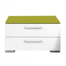 Onella - Noční stolek, 2x zásuvka, demontováno