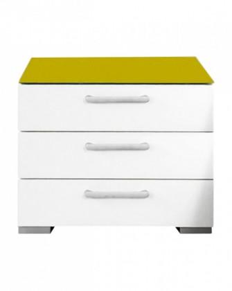 Onella - Noční stolek, 3x zásuvka, demontováno