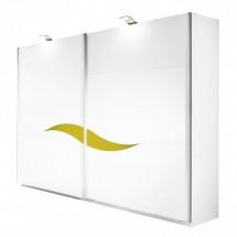 Onella - Šatní skříň, posuvné dveře, š. 225 cm