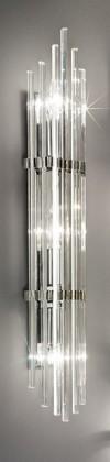 Ontario - E14, 40W, 9,5x60x7 (stříbrná)