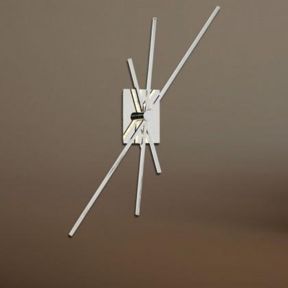Orbit - Nástěnné svítidlo, LED (chrom)