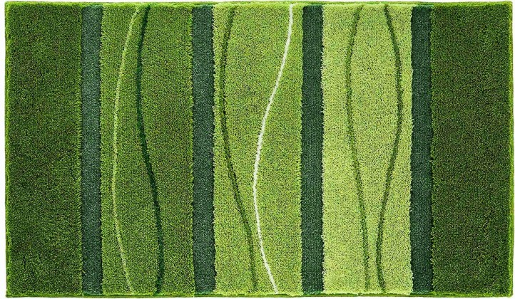 Orly - Koupelnová předložka 60x100 cm (zelená)