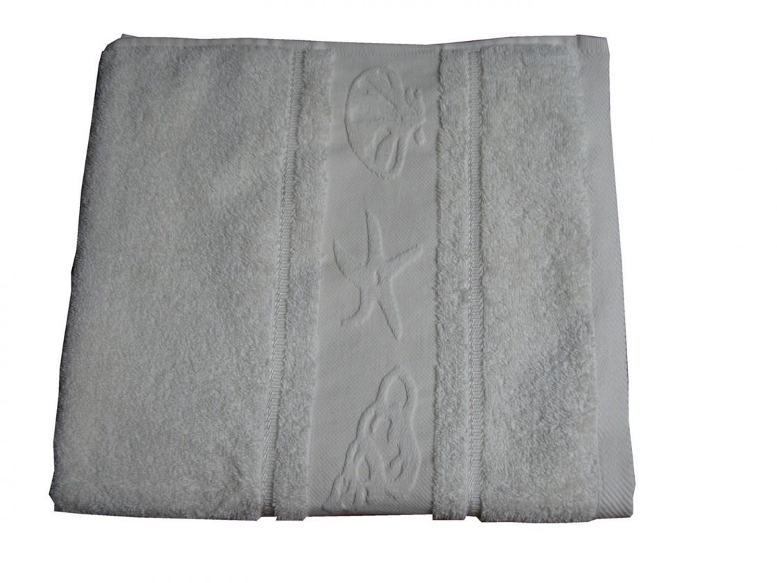 Osuška BALT 70x140 bílá