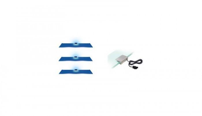 Osvětlení Osvětlení - 3 LED (modrá)