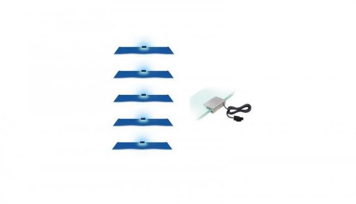 Osvětlení Osvětlení - 5 LED (modrá)