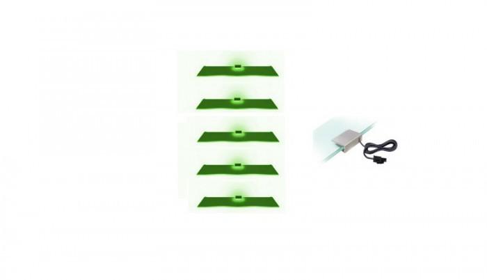 Osvětlení Osvětlení - 5 LED (zelená)