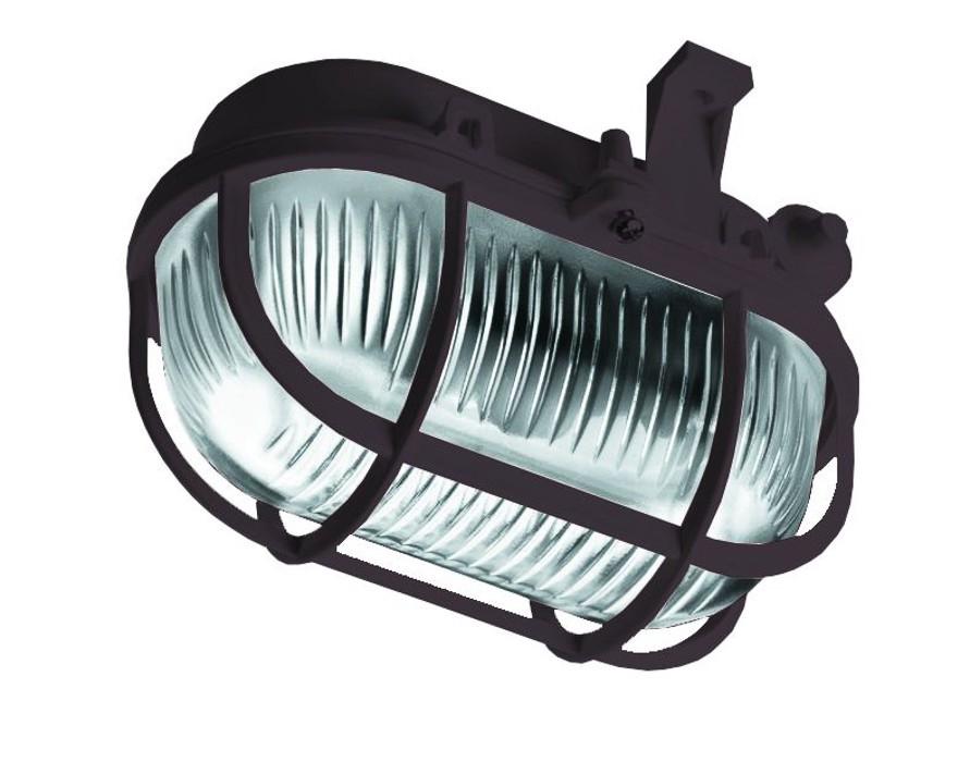 Oval - Stropní svítidlo, E27, 60W (černá)